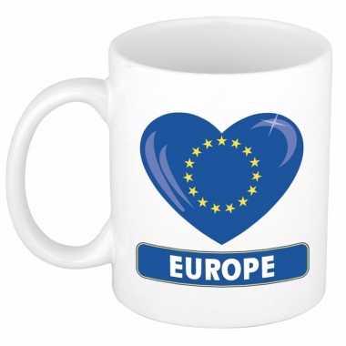 I love europa mok / beker 300 ml