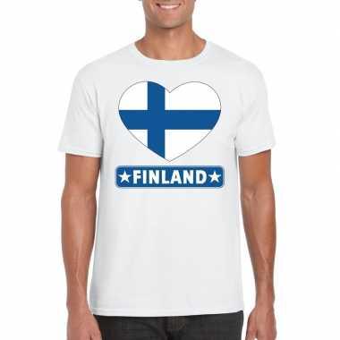 I love finland t-shirt wit heren
