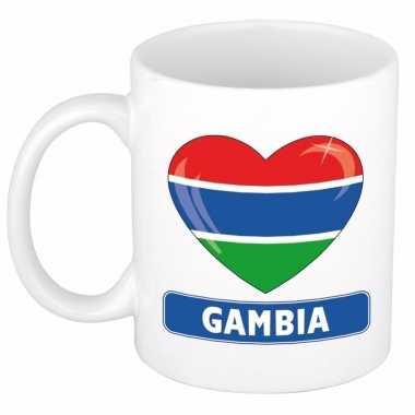 I love gambia mok / beker 300 ml
