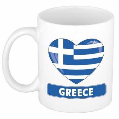 I love griekenland mok / beker 300 ml