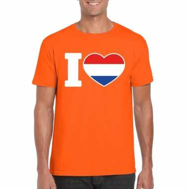 I love holland shirt oranje heren