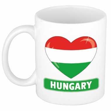 I love hongarije mok / beker 300 ml