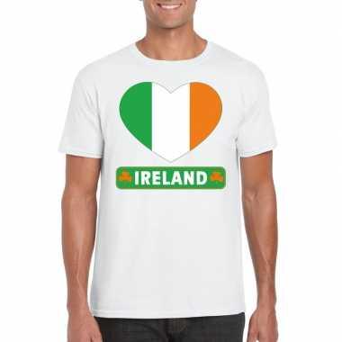 I love ierland t-shirt wit heren