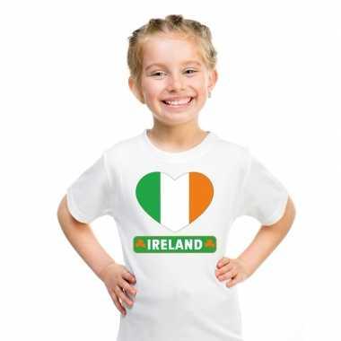 I love ierland t-shirt wit kinderen