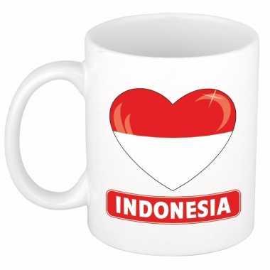 I love indonesie mok / beker 300 ml