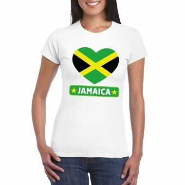 I love jamaica t-shirt wit dames
