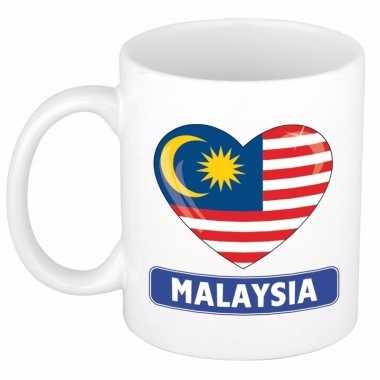 I love maleisie mok / beker 300 ml