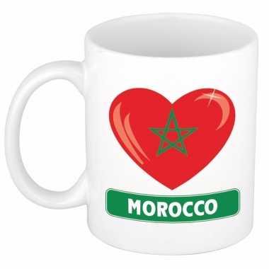 I love marokko mok / beker 300 ml