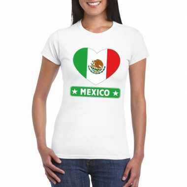 I love mexico t-shirt wit dames