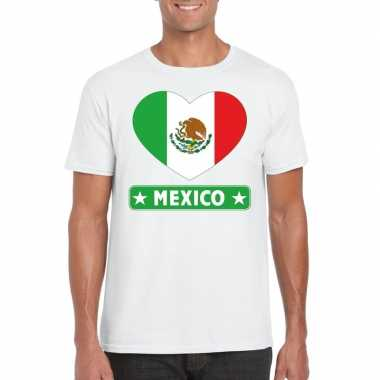 I love mexico t-shirt wit heren