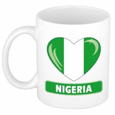 I love nigeria mok / beker 300 ml