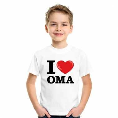 I love oma t-shirt wit jongens en meisjes