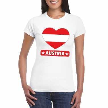 I love oostenrijk t-shirt wit dames