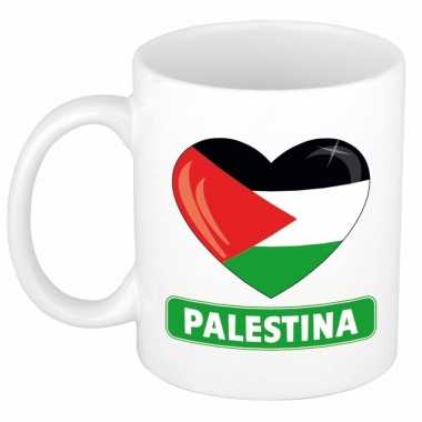 I love palestina mok / beker 300 ml