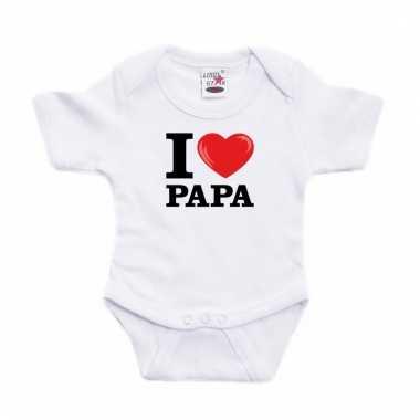 I love papa rompertje wit babies