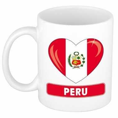 I love peru mok / beker 300 ml