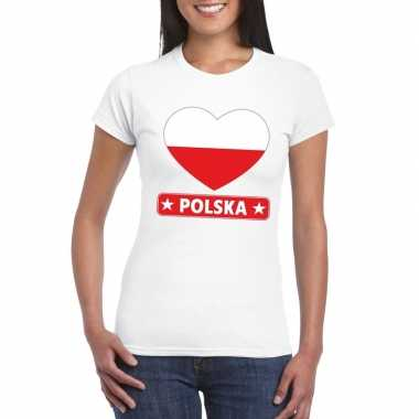 I love polen t-shirt wit dames