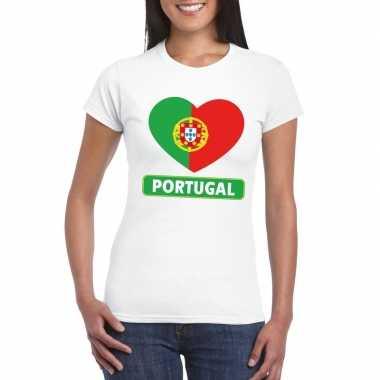 I love portual t-shirt wit dames