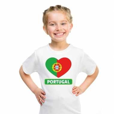 I love portual t-shirt wit kinderen