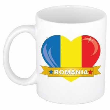 I love roemenie mok / beker 300 ml