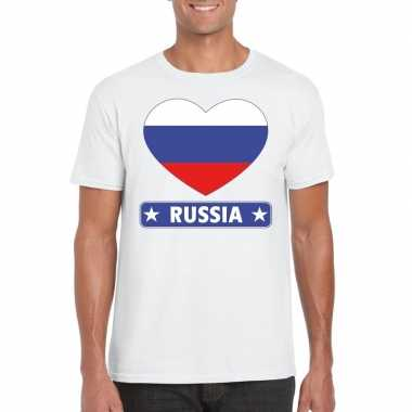 I love rusland t-shirt wit heren