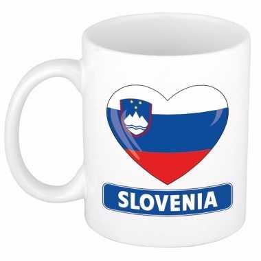I love slovenie mok / beker 300 ml