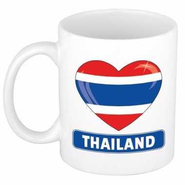 I love thailand mok / beker 300 ml