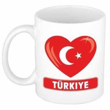 I love turkije mok / beker 300 ml