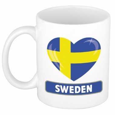 I love zweden mok / beker 300 ml
