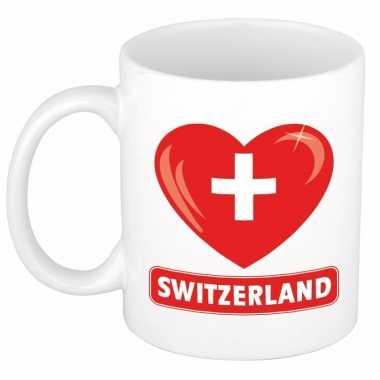 I love zwitserland mok / beker 300 ml