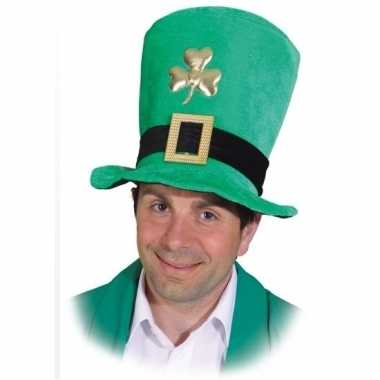 Ierse hoge hoed sint patricks day