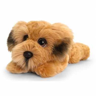 Ierse terrier honden knuffeldier 25 cm