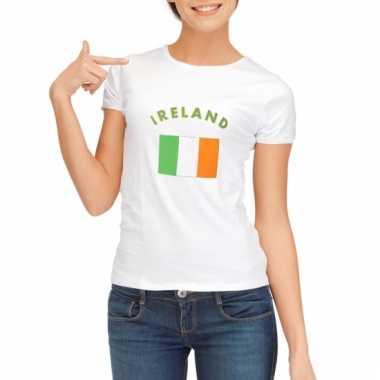 Ierse vlag t-shirt voor dames