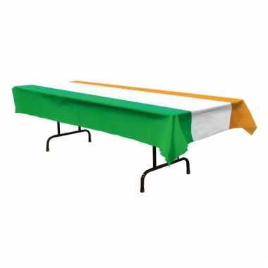 Ierse vlag tafelkleed 275 x 135 cm