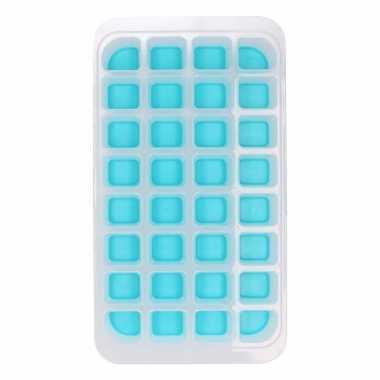 Ijsblokjes maken vorm blauw