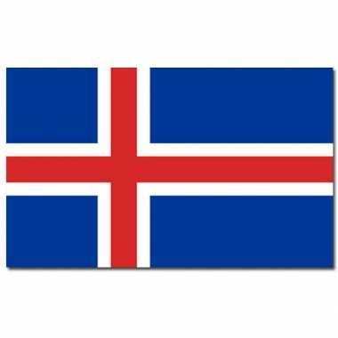 Ijslandse vlaggen 90x150 cm