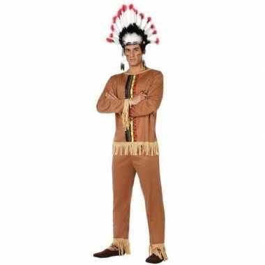 Indianen kostuum pallaton voor heren