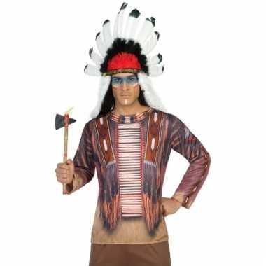 Indianen shirt verkleedoutfit