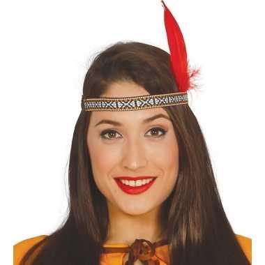Indianen veer rood
