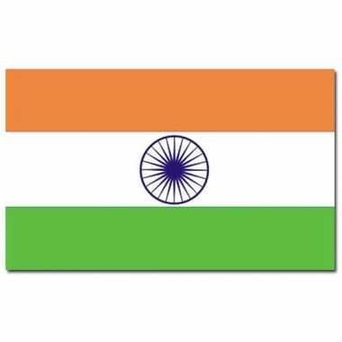 Indiase vlag 90 x 150 cm