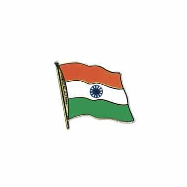 Indische vlag broche