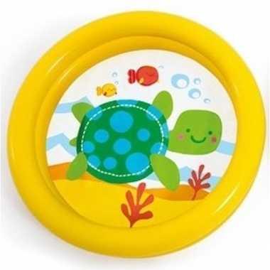 Intex baby zwembadje geel 61 cm