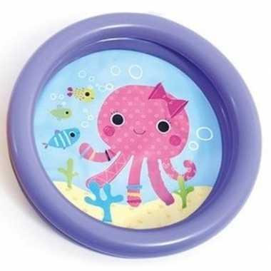 Intex baby zwembadje paars 61 cm