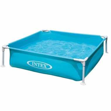 Intex vierkant buiten zwembad 122 x 122 cm