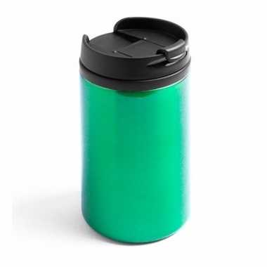 Isoleerbeker rvs metallic groen 320 ml