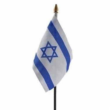 Israel vlaggetje polyester