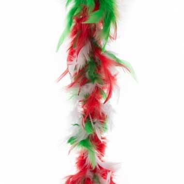 Italiaanse kleuren boa