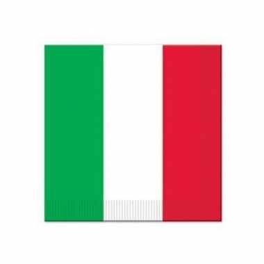 Italiaanse servetten 16 stuks