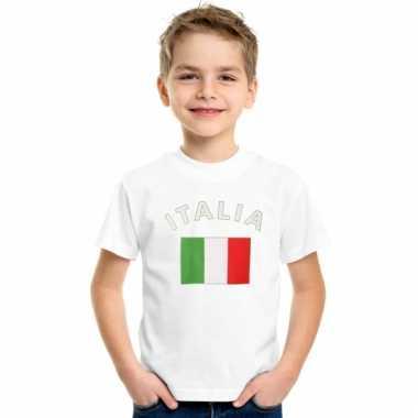 Italiaanse vlag t-shirts voor kinderen