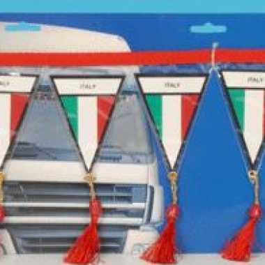 Italie mini vlaggenlijn 60 cm